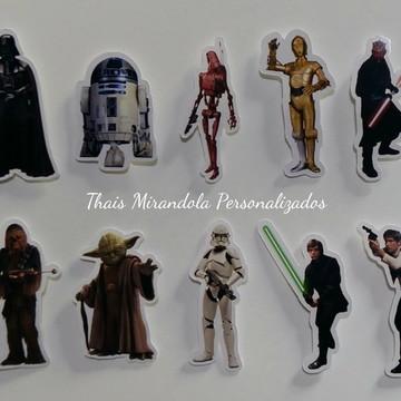 Aplique personagens Star Wars