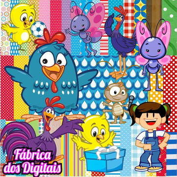 SUPER KIT Digital -Galinha Pintadinha