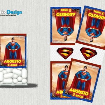 Rótulo Balinhas Super Man