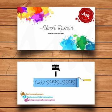 Cartão de visita - arte digital