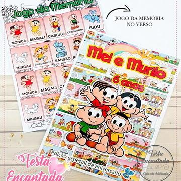 Revista de Colorir Turma da Monica