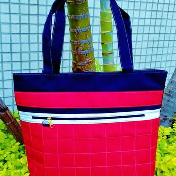 Bolsa Feminina artesanal em tecido
