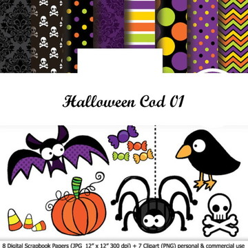 PAPEL DIGITAL HALLOWEEN