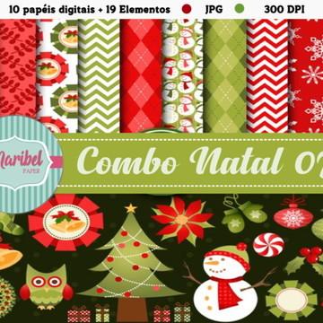 Papel Digital - Combo Natal 07