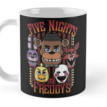 Caneca Five Nights At Freddy' FNAF 03
