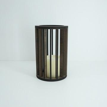 Lanterna Marrom Grande