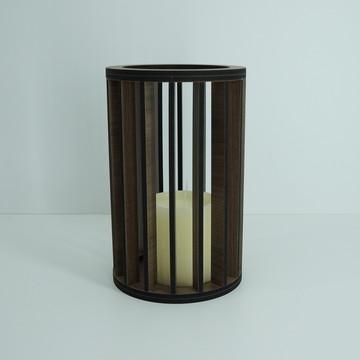 Lanterna Marrom Pequena