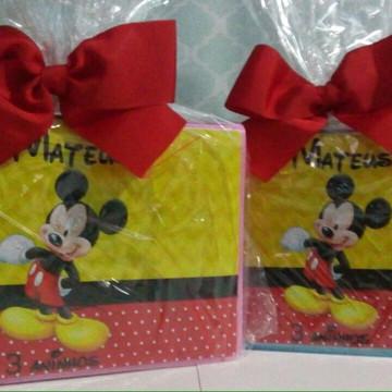 Maleta Pintura 24 itens Mickey