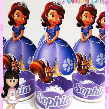 Centro de mesa princesa Sophia