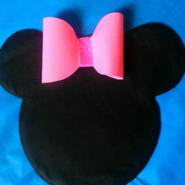 Enfeite de cadeira Mickey e Minnie
