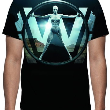 Camiseta Série Westworld - Estampa Total