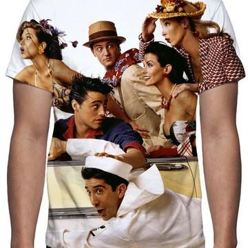 Camiseta Série Friends - Estampa Total
