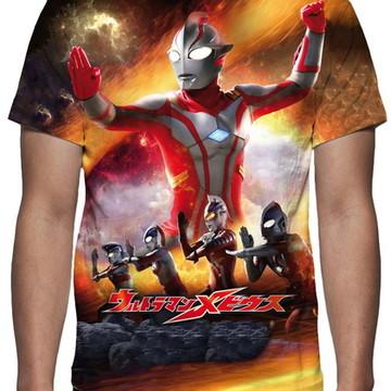 Camiseta Série Ultraman - Estampa Total