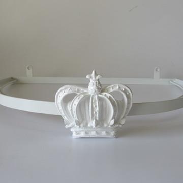 Dossel de Coroa Branco com Voil