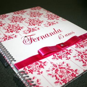 Caderno Assinatura - 15 anos