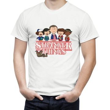 8a3833153 Camisa Stranger Things Snoopy