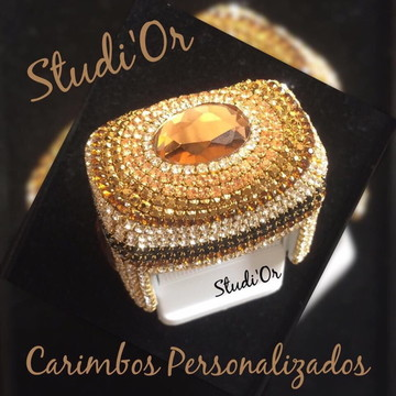Carimbo Luxo Personalizado + borrachinha