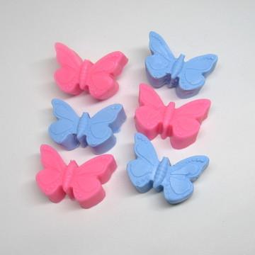 50 Sabonete borboletas sem embalagem