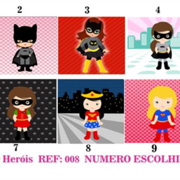 Estampa para Costura Criativa Super Heróis