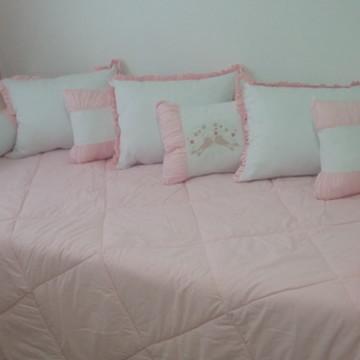 9d1575c5b4 Kit cama de solteiro 9 peças