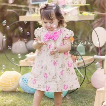 Vestido de Festa Infantil para Criança