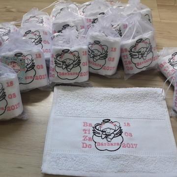 Mini toalhinhas personalizadas