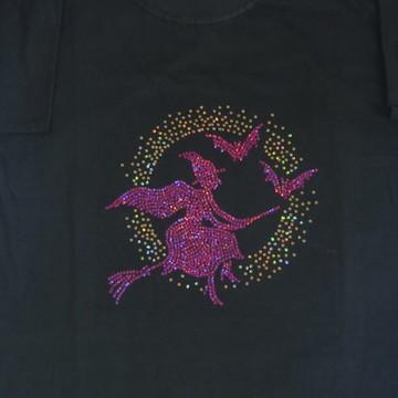 Camiseta Bruxa Voando