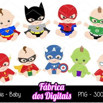 Kit Digital - Heróis Bebê