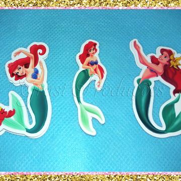 Apliques grande para centro de mesa Ariel - Pequena Sereia
