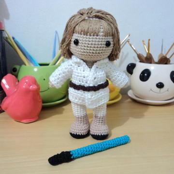 Amigurumi Luke Skywalker de crochê