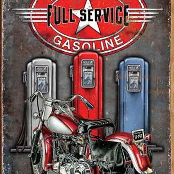 Quadro Decorativo Categoria Posto de Gasolina Modelo 16