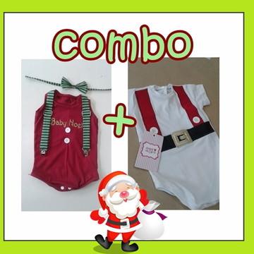 COMBO Body de Natal