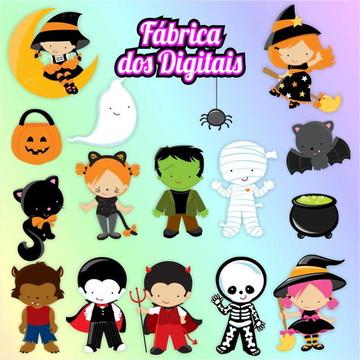 Kit Digital - Halloween / Dia das Bruxas 3