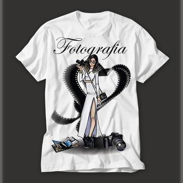Camisetas Personalizada Profissão Fotografia!