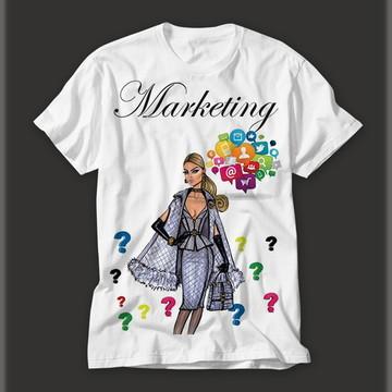 Camisetas Personalizada Profissão Marketing!