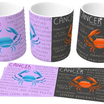 Canecas personalizada Signos - Câncer!