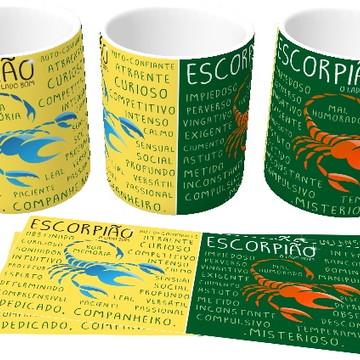 Canecas personalizada Signos - Escorpião!