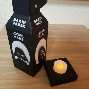 Luminaria Lado Negro Star Wars