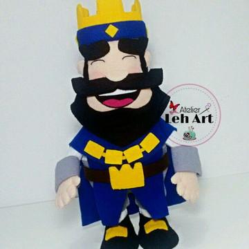 Clash Royale - Rei azul