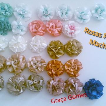 Flores - Rosa Prega Macho ( uni )