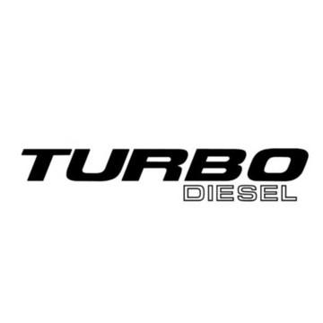 Adesivos Turbo Diesel Para Ford F250 A045
