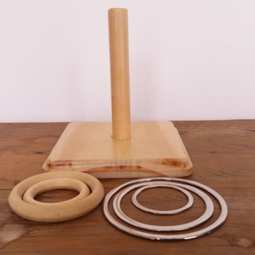 Montessori Kit de argolas progressivas