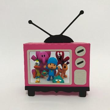 Caixa televisão pocoyo