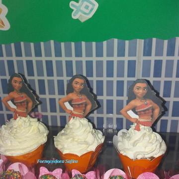 cupcakes bolos e docinhos moana