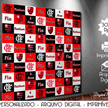 Backdrop Digital Personalizado - Para Imprimir