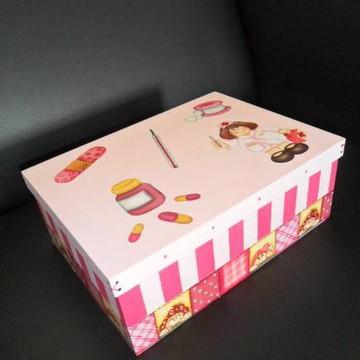 caixa para medicamentos MENINA (encomend