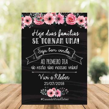 Chalkboard casamento -