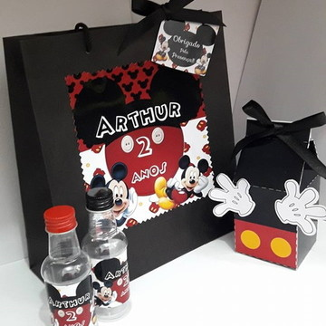 Kit Personalizados Tema Mickey