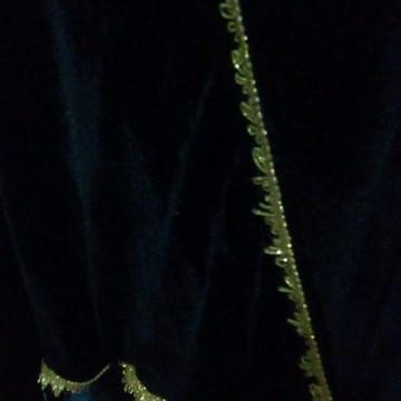 capa de exu preta e dourado