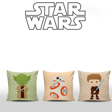 Almofadas Star Wars Baby 3 unidades